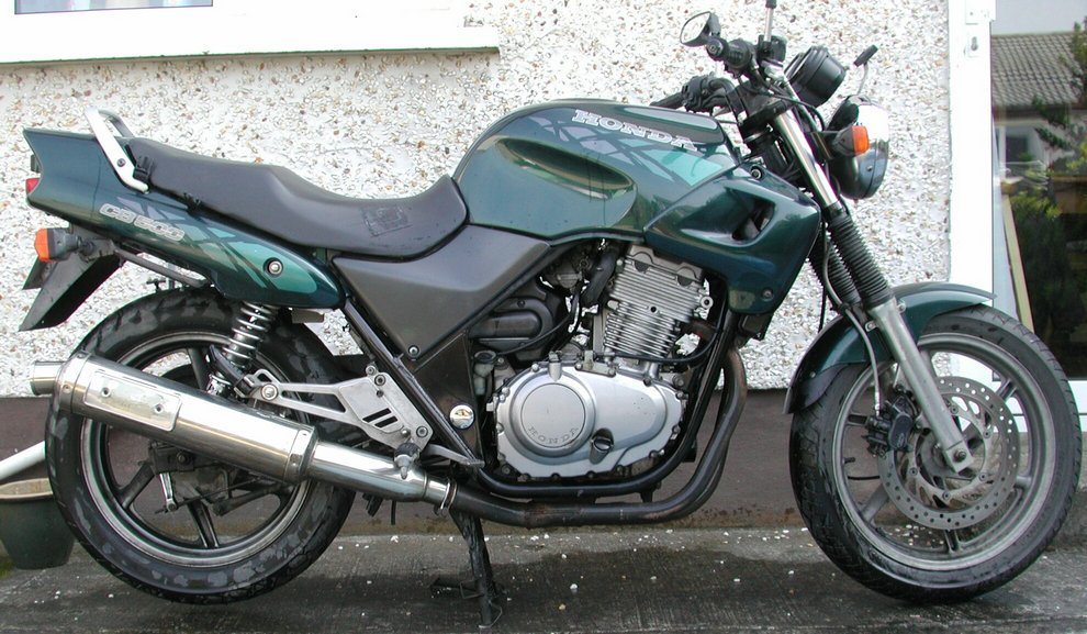 1994 CB500R breaking for spares