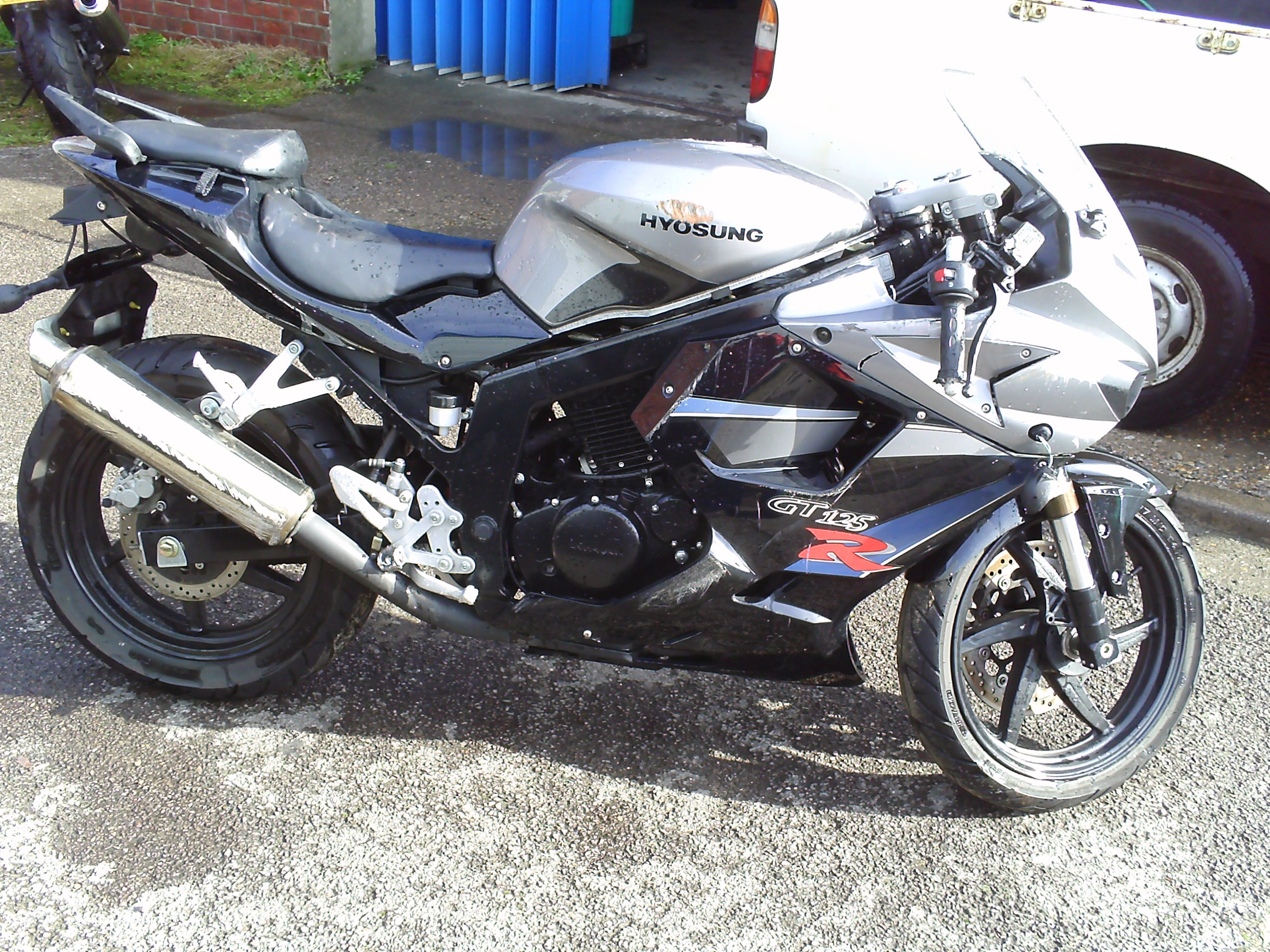 Sold!! Hyosung gt125r   in Sherwood, Nottinghamshire   Gumtree